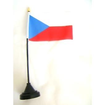 Tšekki taulukon lippu kiinni & Base