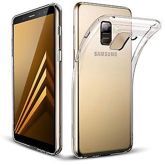 Silikoncase transparent 0,3 mm ultra tunt case för Samsung Galaxy A8 plus A730F 2018