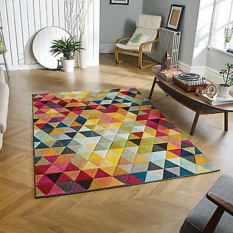 PICCADILLY     526X Multi  Rectangle Rugs Funky Rugs