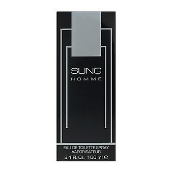 Alfred Sung Sung Homme Eau De Toilette Spray 3.4 Oz/100 ml en caja