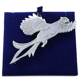 Bird of Prey tinnen Kilt Pin