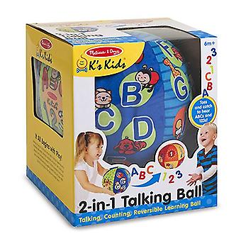 Melissa & Doug KS barn 2-i-1 snakker Ball