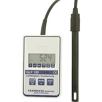 Multi testador Greisinger GLF 100 TDS, condutividade, temperatura 0 µS - mS 100,0 calibrado com padrões de fabricantes (sem certificado)