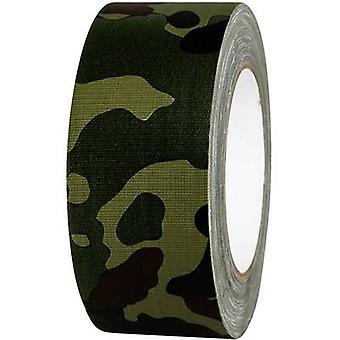 TOOLCRAFT 80B50L25CC 80B50L25CC Nastro di stoffa 80B50L25CC Camouflage (L x W) 25 m x 50 mm 25 m
