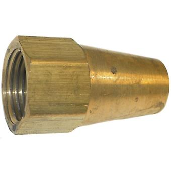 Big A Service Line 3-14180 Brass Long Nut 1/2