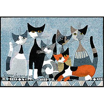 Rosina Wachtmeister doormat Siamo in is Salon Lion of washable mats