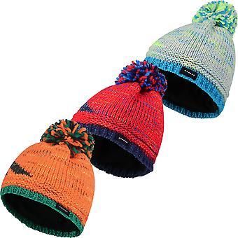 Dare 2b Boys Ice Champ Acrylic Knit Fleece Lined Beanie Hat