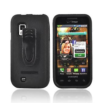Body Glove Snap-On Case with Belt Clip for Samsung Fascinate i500 - Black