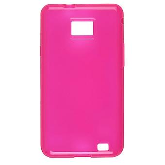 Wireless Solutions Dura-Gel Case for Samsung II SGH-i777 Galaxy S - Pink