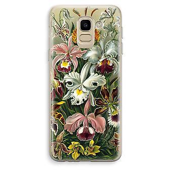 Samsung Galaxy J6 (2018) Custodia trasparente (Soft) - Orchidae di Haeckel