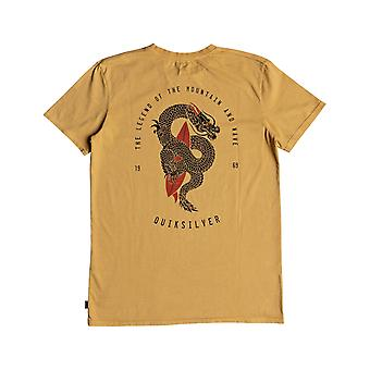 Quiksilver Rising Giant Kurzarm T-Shirt in Taffy