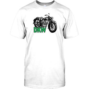 DKW klassieke Duitse motor Mens T Shirt