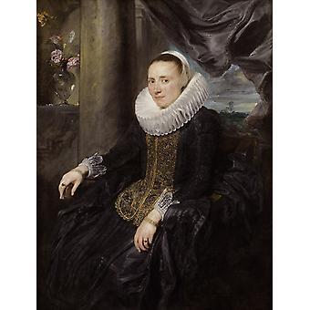 مارغريتا سندرز ، أنتوني فان دايك ، 50x40cm