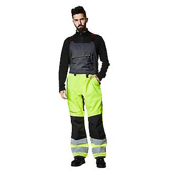 Helly Hansen Mens Alna Hi Visibility Workwear Coverall Dungarees Bib
