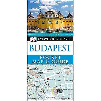 DK Eyewitness Tasche Karte & Reiseführer Budapest (DK Eyewitness Taschenkarte und Guide)
