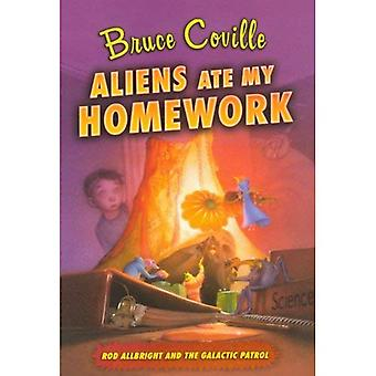 Alienígenas comeram minha lição de casa (Allbright Rod e a patrulha Galáctica