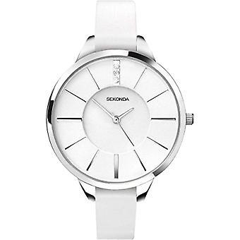 Sekonda wrist watch, analog, female, Pu, white