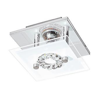 Eglo - Roncato 1 Licht LED Flush Decke Licht Chrom EG93781