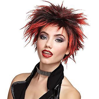 شعر مستعار أحمر الفرخ Punker