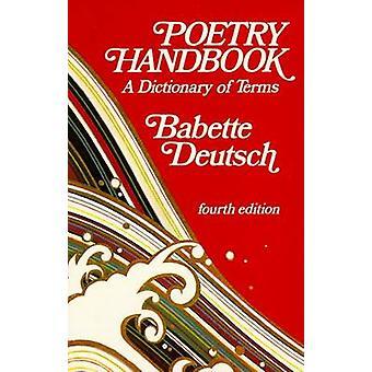 Manuale di poesia di Deutsch & Babette