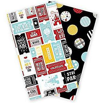 Echo Park Wish Upon a Star Travelers Notebook Insert Daily Calendar