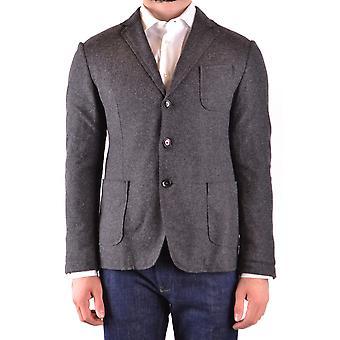 Massimo Rebecchi Ezbc214021 Men's Grey Wool Blazer