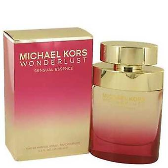 Wonderlust sensuele Essence door Michael Kors Eau de parfum spray 3,4 oz (vrouwen) V728-538661