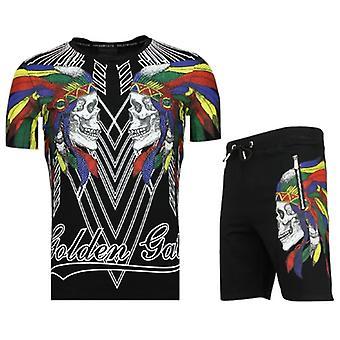 Buy Shorts tracksuit-Joggingpak-F573-Black