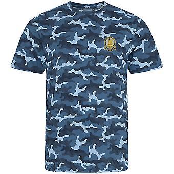 14. Könige Husaren - lizenzierte britische Armee bestickt Camouflage Print T-Shirt