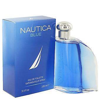 Nautica blue eau de toilette spray by nautica 445526 100 ml