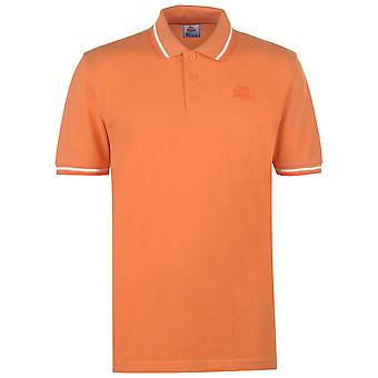 Lonsdale mens tippade Polo T shirt T-shirt Kortärmad topp