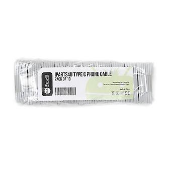 Cable de carga rápida iParts4u - Tipo-C - 10 Pack