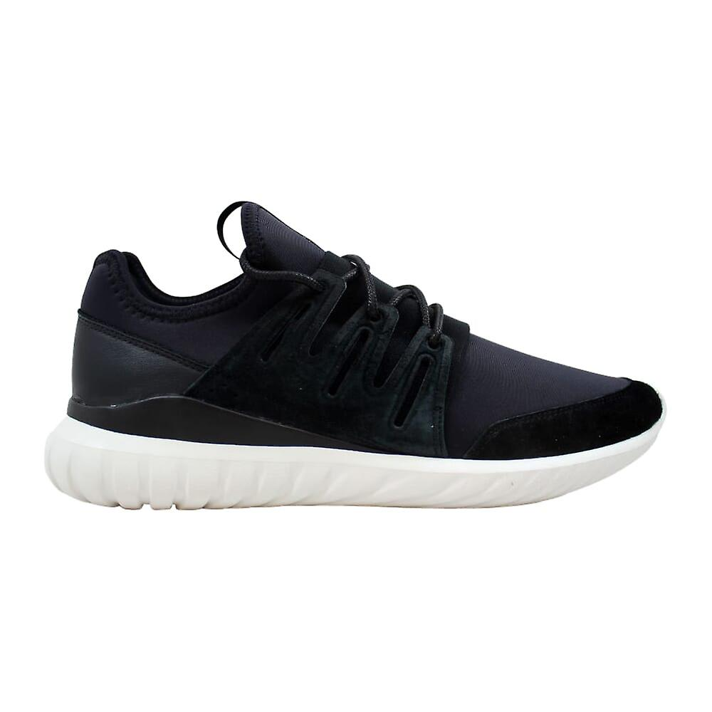 Adidas rørformede radial svart/svart-hvit AQ6723 menn ' s