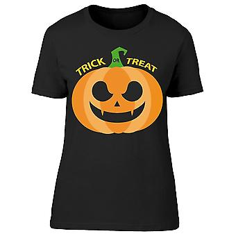 Angry Pumpkin Icon Tee Women-apos;s -Image par Shutterstock