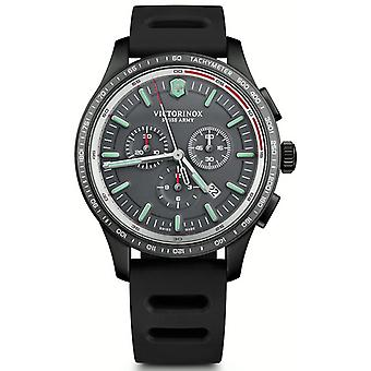 Victorinox alliance Quartz Analog Man Watch with V241818 Rubber Bracelet