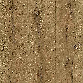 Brown Wood Tablón Wallpaper Tableros de suelo Vintage Texturizado Pasta Pared Vinilo Rasch