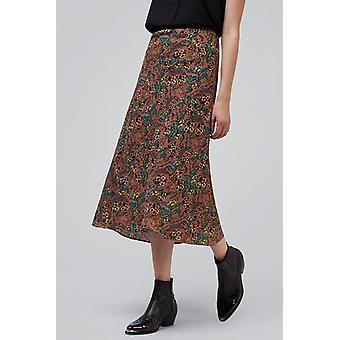 Louche Tehani Hedgerow Skirt Pink