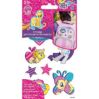 Sticker Stickables Tyvek - My Little Pony - 2 Sheet New Licensed st1412