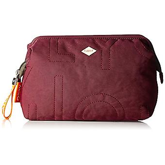Oilily Spell Cosmeticpouch Lhz 2 - Donna Rot Day Clutch (Burgundy) 11x18.5x25.5 cm (B x H T)