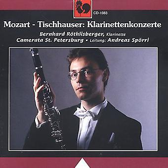 Mozart/Tischhauser - Mozart: Clarinet Concerto in a, Kv 622; Tischhauser: The Beggar's Concerto [CD] USA import