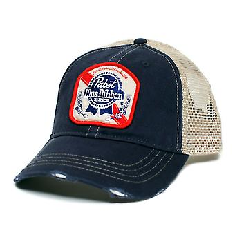 Pabst Blue Ribbon Trucker Hat
