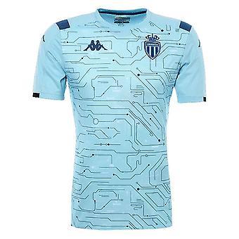 2019-2020 Monaco pre match training shirt (blauwe hemel)