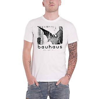 Bauhaus T Shirt Bela Lugosis Dead Single Band Logo new Official Mens White