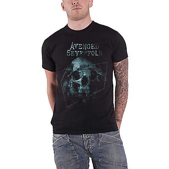 Avenged Sevenfold T Shirt Galaxy band Logo the stage new Official Mens Black