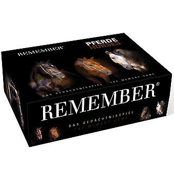 Husk Husk 44 heste memory spil