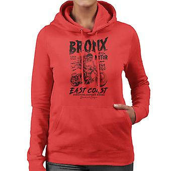 Divide & Conquer Bronx NYC Motor Women's Hooded Sweatshirt
