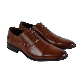 Unlisted by Kenneth Cole Design 303031 Mens Brown Casual Lace Up Oxfords Shoes