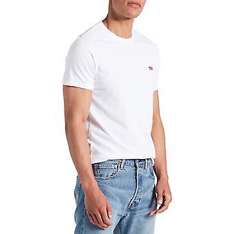 Levi ' s alkuperäinen housemark T-paita valkoinen 39
