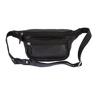 PICARD LUIS mænds bælte taske Fanny Pack sort 2665