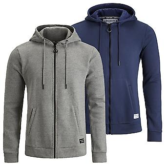 Bjorn Borg Mens Core Organic Cotton Full Zip Regular Fit Hoodie